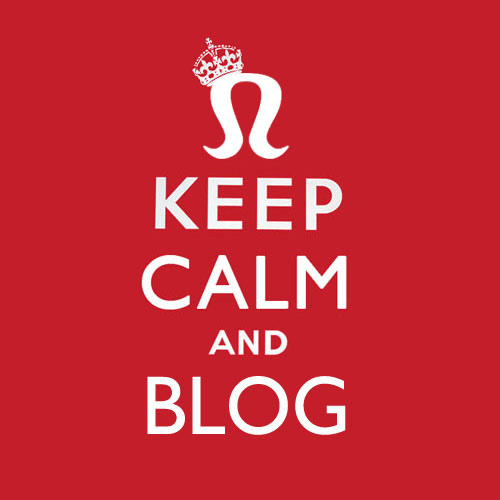 Keep calm and blog